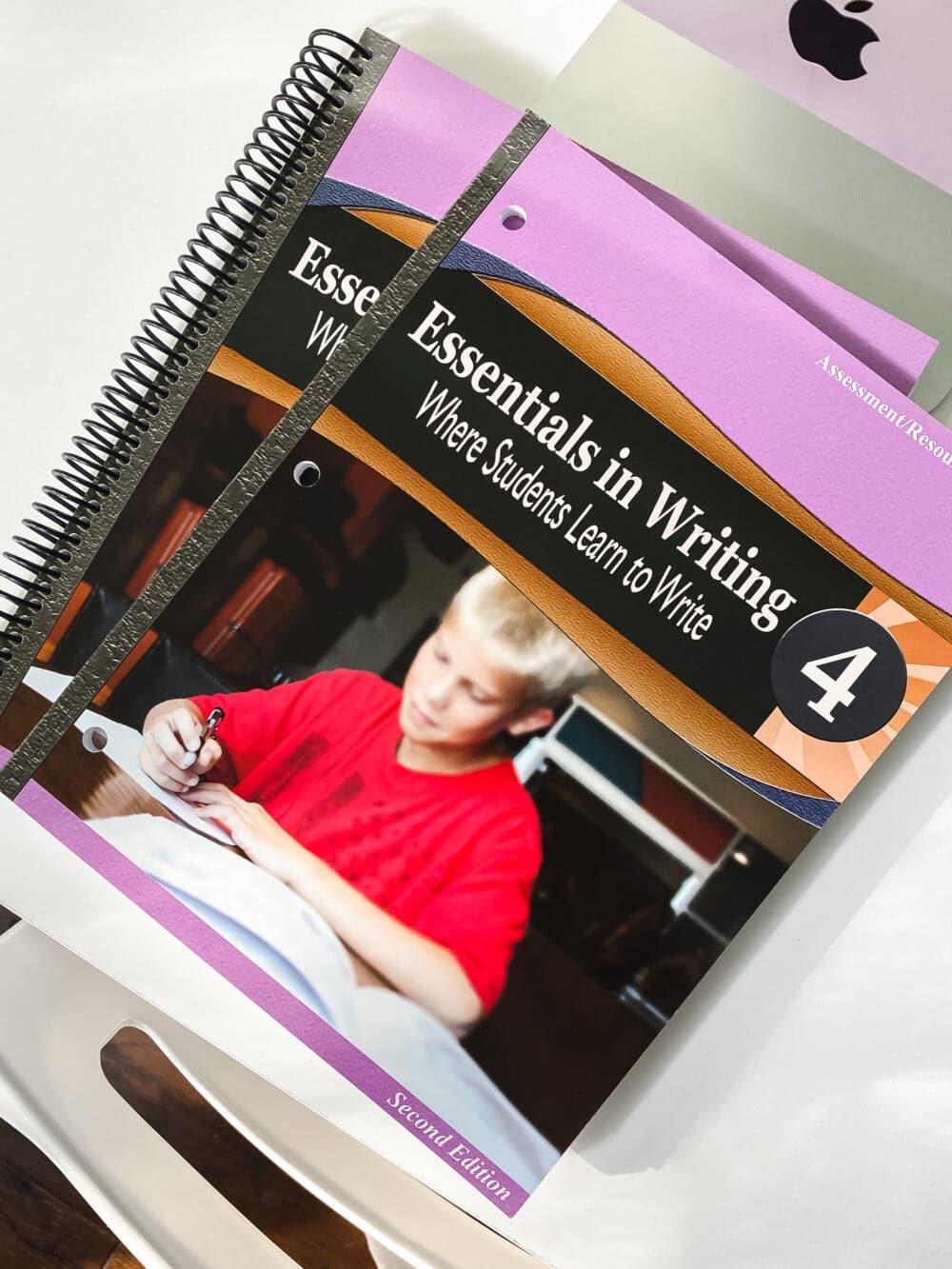 the essentials in writing 4th grade language arts homeschool curriculum