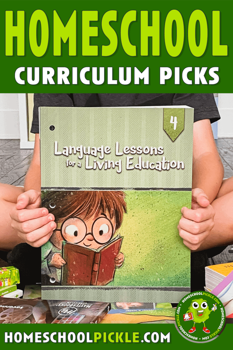 homeschool curriculum picks