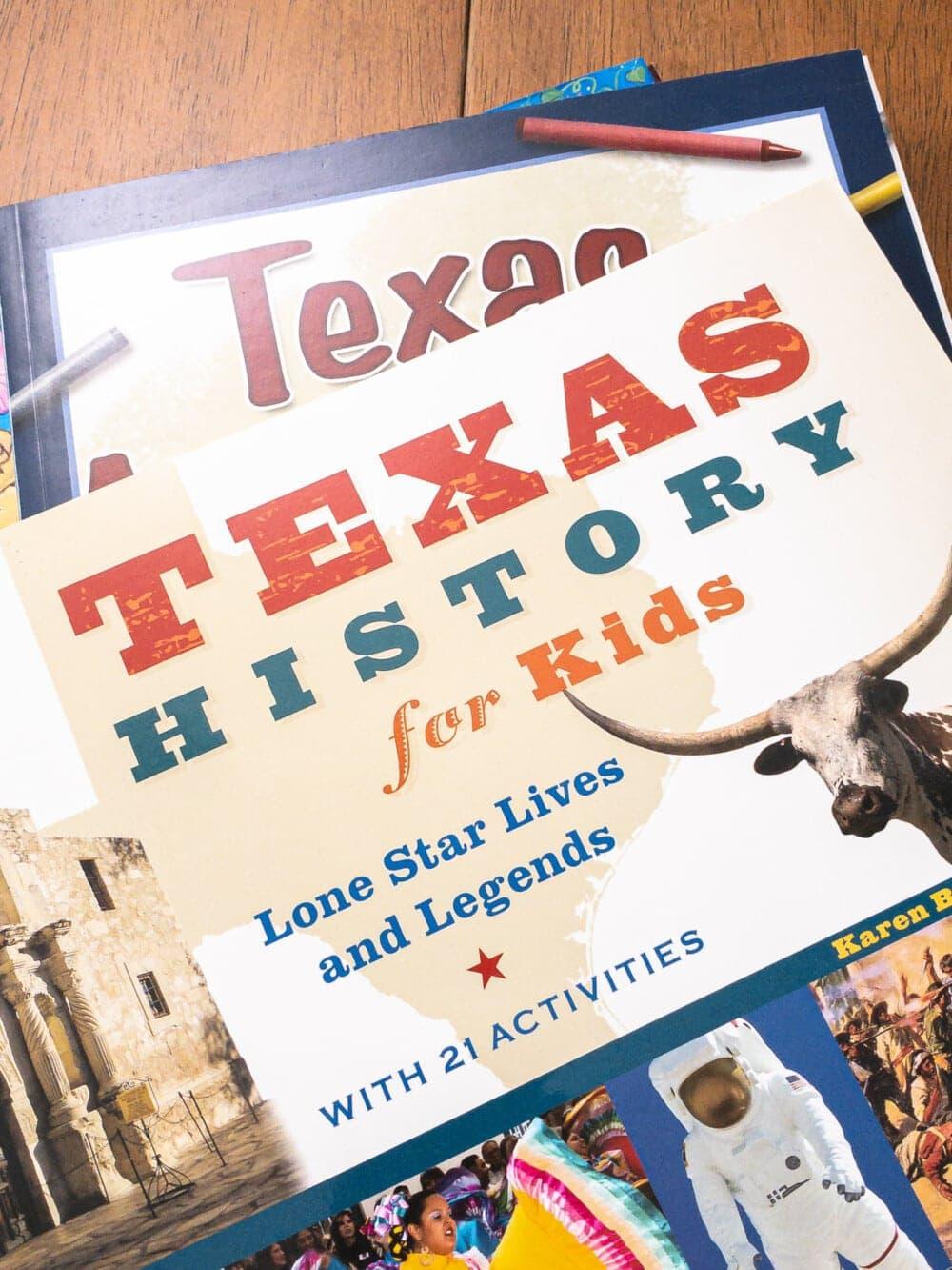 texas history books for kids